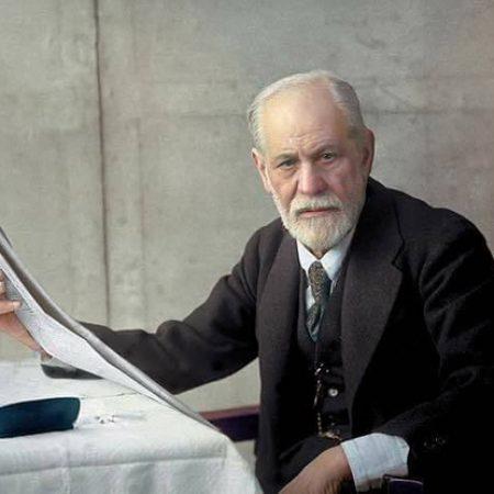 La imagen de Sigmund Freud